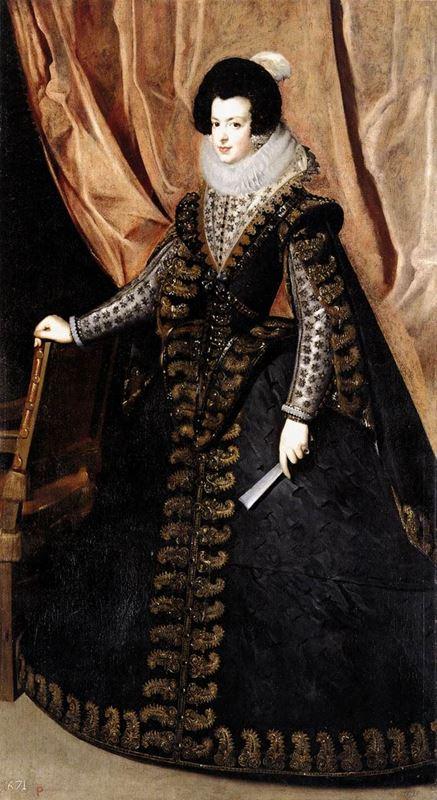Kraliçe Isabel Ayakta, 1631-1632 resmi