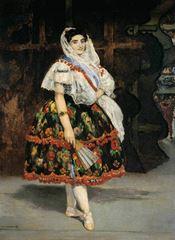 Lola de Valence, 1862, Tuval üzerine yağlıboya, 123 x 92 cm, Musée d'Orsay, Paris, Fransa.