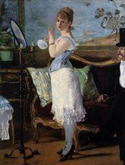 Nana, 1877, Tuval üzerine yağlıboya, 154 x 115 cm, Hamburger Kunsthalle, Hamburg, Almanya.