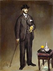Théodore Duret'nin Portresi, 1868