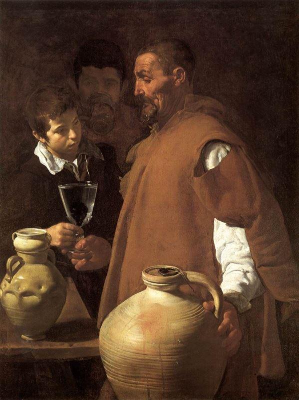 Seville'li Su Satıcısı, 1618-1622 resmi