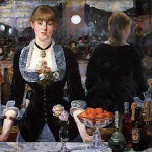 Picture of Manet: Folies Bergère'de Bir Bar