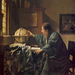 Picture of Gökbilimci - Johannes Vermeer
