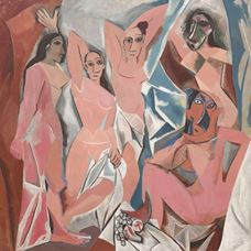 Picture for The Girls of Avignon - Pablo Picasso