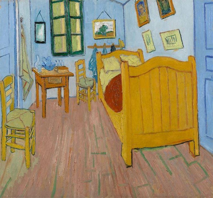 Yatak Odası, 1888 picture