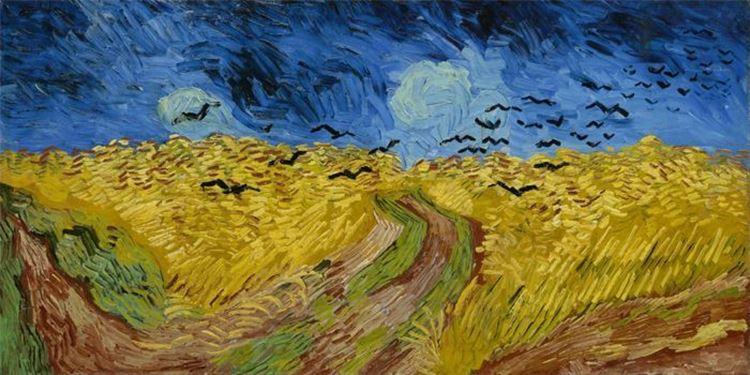 Buğday Tarlası ve Kargalar, 1890 picture