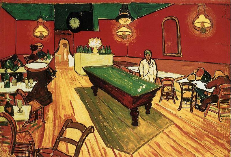 Gece Kahvesi, 1888 resmi