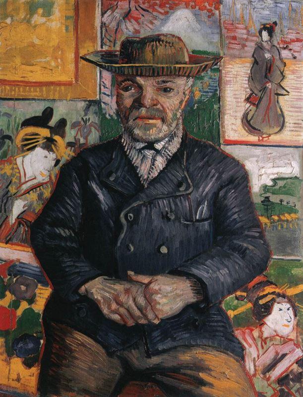 Père Tanguy'un Portresi, 1887-1888 resmi