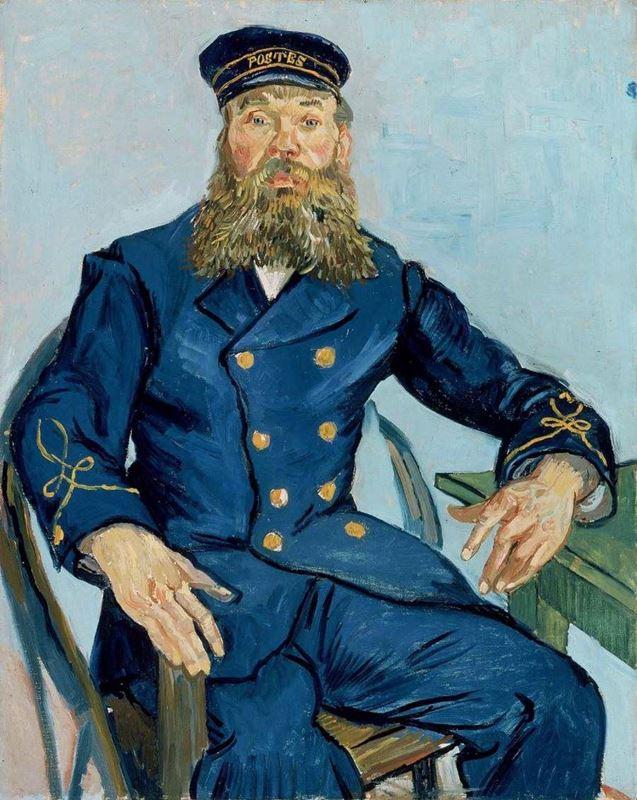 Postacı Joseph Roulin, 1888 resmi
