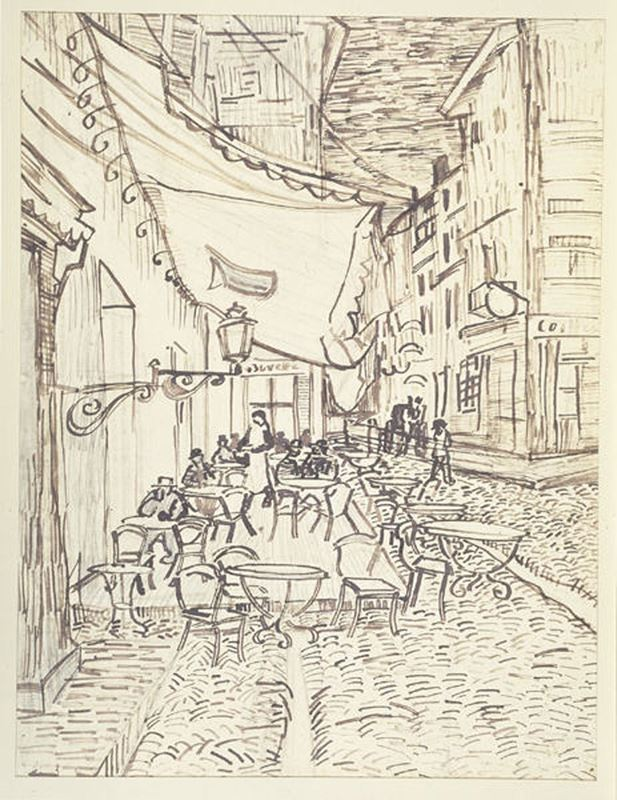 Picture for Café Terrace at Night, 1888