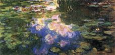 Show Water Lilies, 1919 details