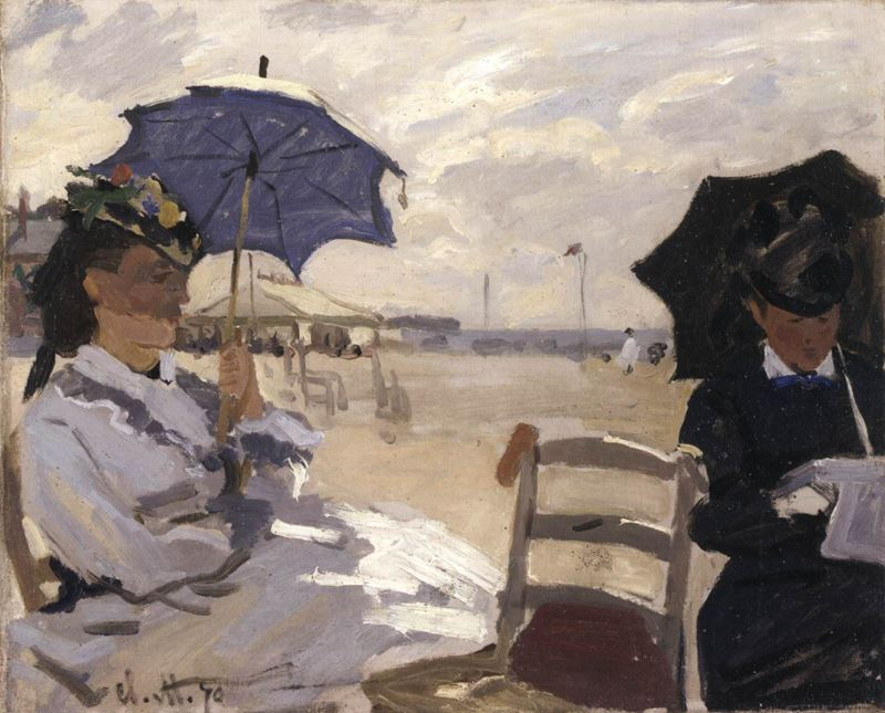 Picture for The Beach at Trouville, 1870