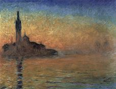 Show Sunset in Venice, 1908 details