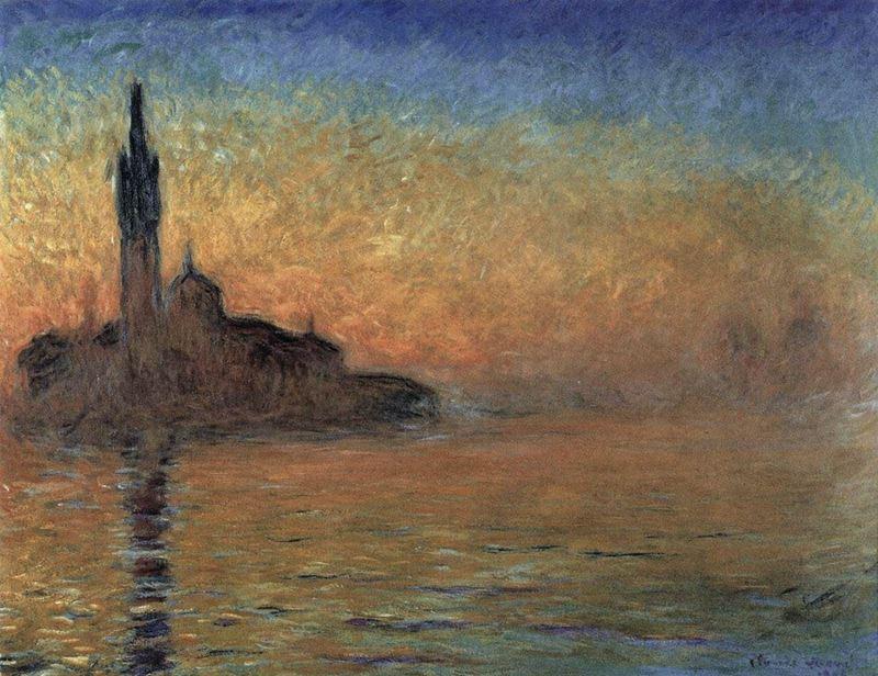 Venedik'te Akşam, 1908 resmi