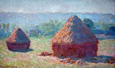 Show Haystacks, End of Summer, 1891 details