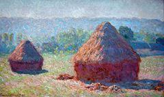 Saman Balyaları, Yaz Sonu, 1891, Tuval üzerine yağlıboya, 60.5 x 100.8 cm, Muséed'Orsay, Paris, Fransa.