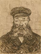 Joseph Roulin'in Portresi, 1888