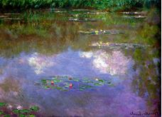 Show Water Lilies, The Clouds, 1903 details