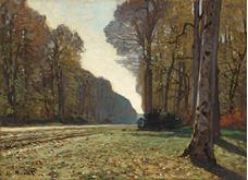 Chailly'de Ağaçlıklı Yol, 1865