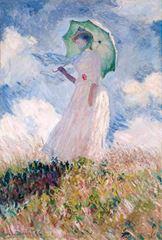 Açık Hava Çalışması, Sola Bakan Kadın, 1886, Tuval üzerine yağlıboya, 131 x 88.7 cm, Musée d'Orsay, Paris, Fransa.