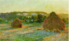 Show Haystacks, End of Summer, 1890-1891 details