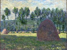 Giverny'de Saman Balyası, 1889
