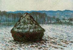 Saman Balyası, 1890-1891, Tuval üzerine yağlıboya, 65.8 x 92.3 cm, The Art Institute of Chicago, Chicago, ABD.