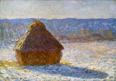 Show Haystack, Snow Effect, 1891 details