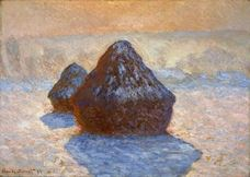 Show Haystacks, Snow Effect, 1891 details