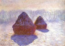Show Haystacks, Effect of Snow and Sun, 1891 details