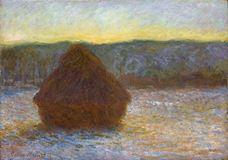 Saman Balyası, Kar Erimesi, Günbatımı, 1890-1891