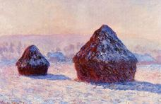 Show Haystacks, Snow Effect, Morning, 1891 details