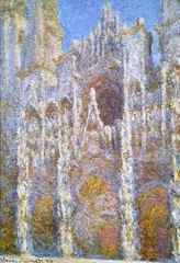 Rouen Katedrali, Ana Giriş, 1894, Tuval üzerine yağlıboya, 100.6 x 66.0 cm, Museum of Fine Arts, Boston, ABD.