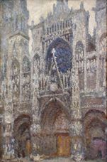 Show Rouen Cathedral, Grey Weather, 1894 details