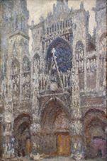 Rouen Katedrali, Gri Hava, 1892