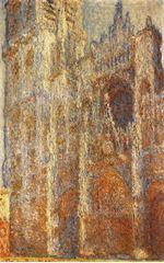 Rouen Katedrali, Ana Giriş (Öğlen), 1894, Tuval üzerine yağlıboya, 101 x 65 cm, The Pushkin Museum of Fine Arts, Moscow, Rusya.