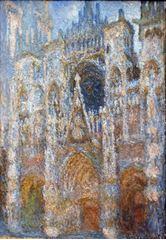 Rouen Katedrali, Ana Giriş, (Gün Ortası), 1892-1893 dolayları, Tuval üzerine yağlıboya, 106.7 x 73.7 cm, Sterling and Francine Clark Art Institute, Williamstown, Massachusetts, ABD.