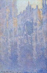Rouen Katedrali, Ana Giriş (Sabah Sisi), 1894, Tuval üzerine yağlıboya, 101 x 66 cm, Folwang Museum, Essen, Almanya.
