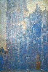 Rouen Katedrali, Ana Giriş ve Albane Kulesi (Sabah Etkisi), 1894, Tuval üzerine yağlıboya, 106.1 x 73.9 cm, Museum of Fine Arts, Boston, ABD.
