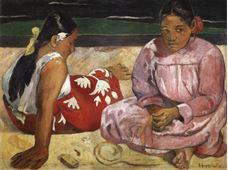Tahitili Kadınlar, 1891