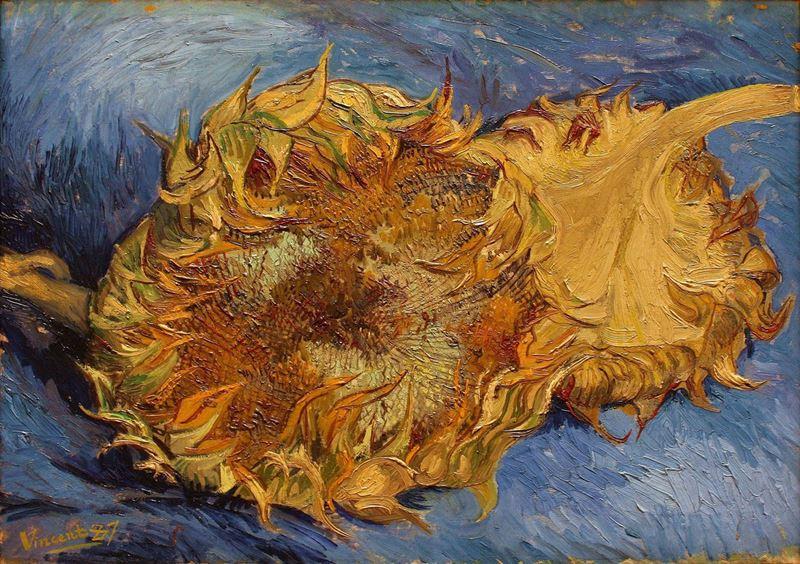 Ayçiçekleri, 1887 resmi