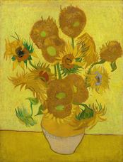 Show Sunflowers, 1889 details