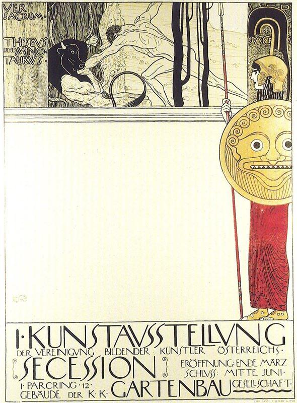 Theseus ve Minotaur, 1898 resmi