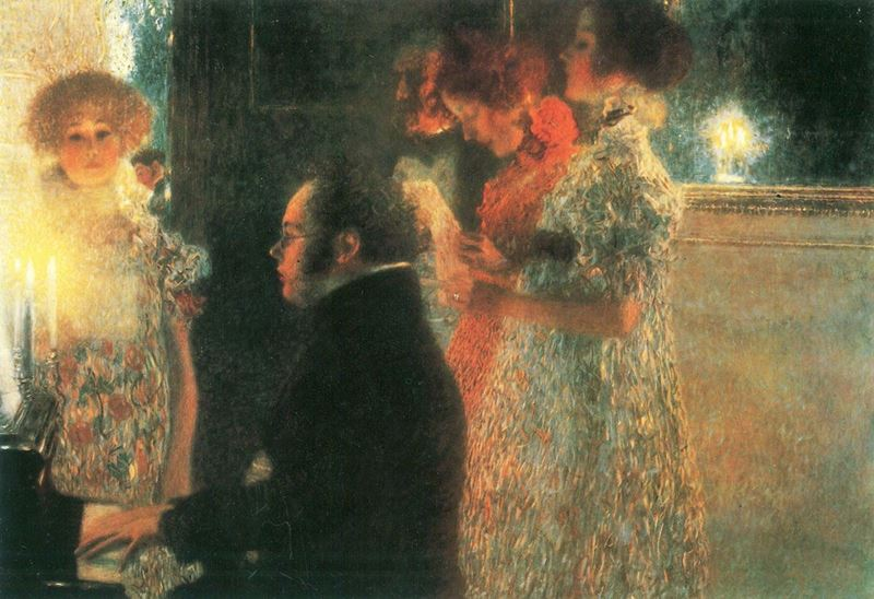 Picture for Schubert at the Piano, 1899