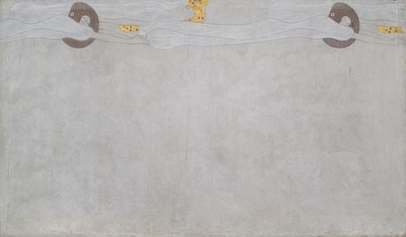 Picture for Beethoven Frieze: The Yearning for Happiness (Long wall, Panel 4), 1901