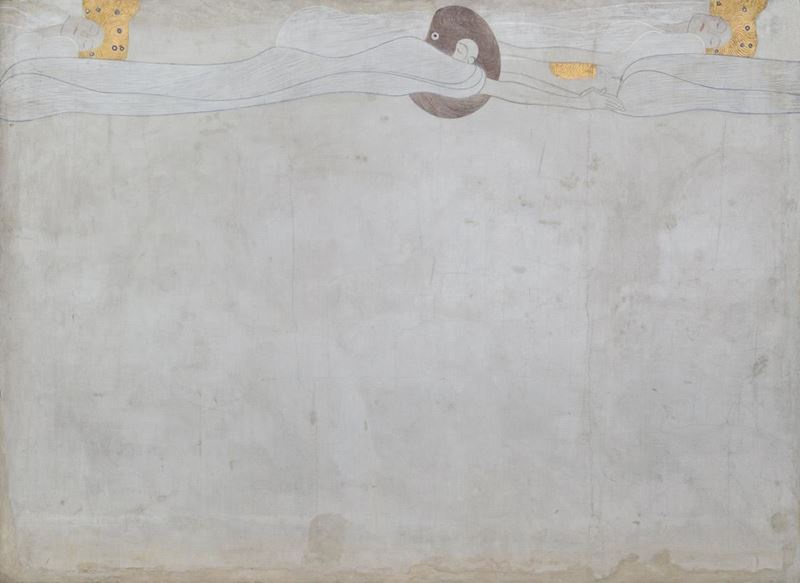 Picture for Beethoven Frieze: The Yearning for Happiness (Long wall, Panel 1), 1901