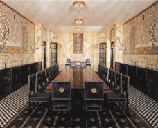 Show The Stoclet Palace, Dining room decorated with Klimt's mosaics, 1905-1911 details