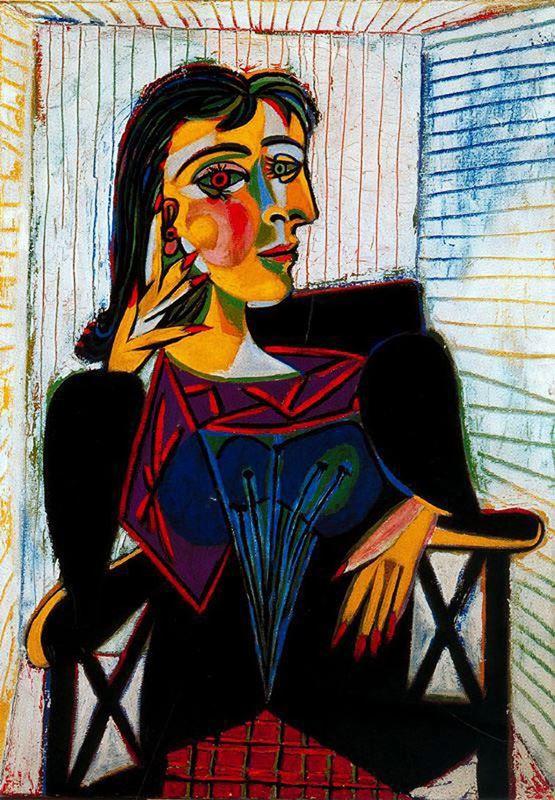 Dora Maar'ın Portresi, 1937 resmi