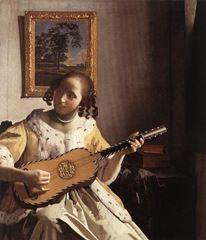 Gitar Sanatçısı, 1672 dolayları, Tuval üzerine yağlıboya, 53 cm x 46.3 cm, Kenwood House, London, İngiltere.