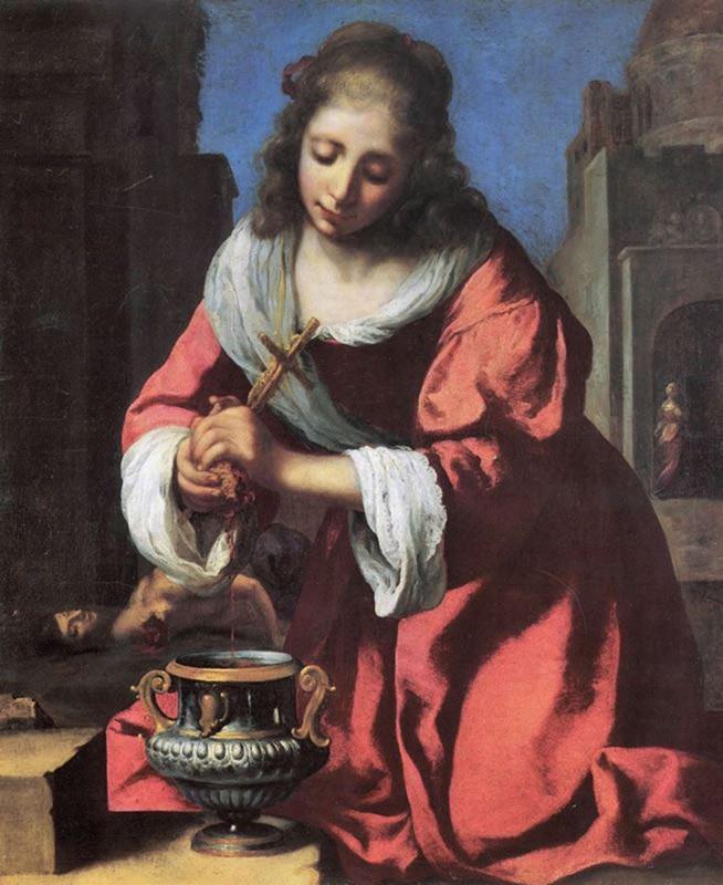 Saint Praxedis, 1655 resmi